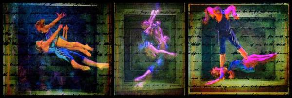 Photograph - Circus Triptych Quatre by Alice Gipson