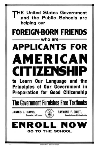 Wall Art - Painting - Citizenship, 1922 by Granger