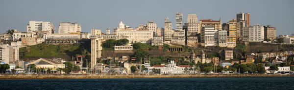 Salvador Photograph - City At The Waterfront, Salvador by Panoramic Images