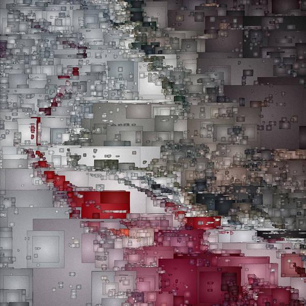Digital Art - City At War by David Hansen