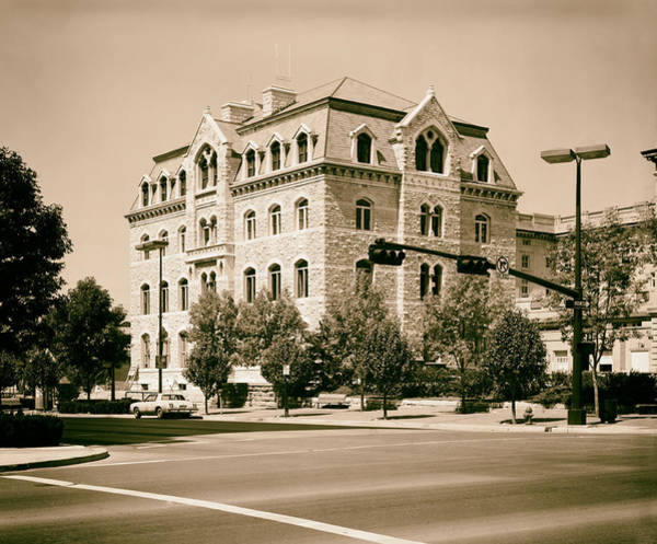 1981 Photograph - City Hall - Lincoln Nebraska 1981 by Mountain Dreams