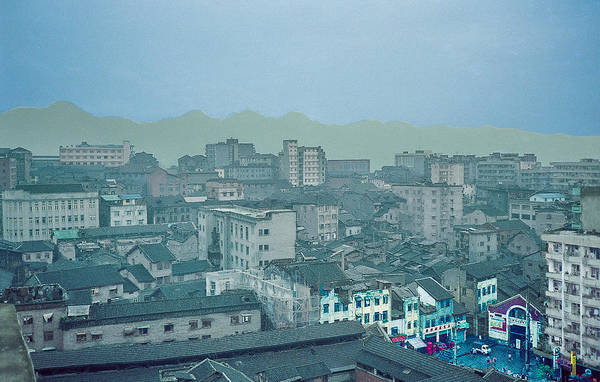 Photograph - City In China by Pete Hendley