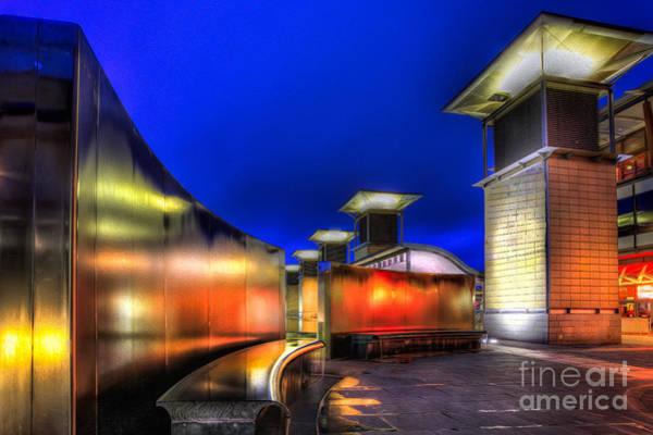 Bristol Wall Art - Photograph - City Lights by Adrian Evans