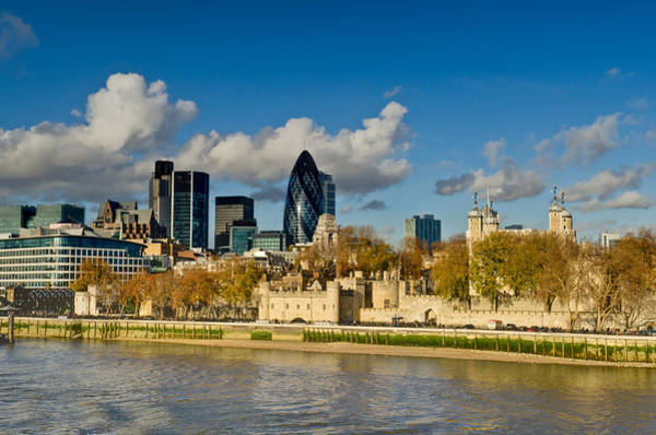 Photograph - City Of London From Tower Bridge by Gary Eason