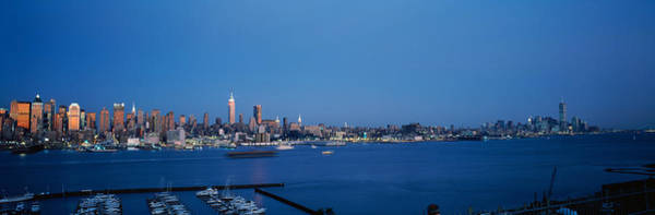 Wall Art - Photograph - City Viewed From Hamilton Park, New by Panoramic Images
