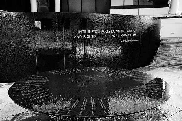 Photograph - Civil Rights Memorial by Danny Hooks