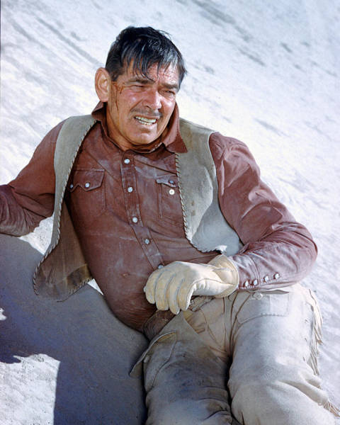 Clark Gable Wall Art - Photograph - Clark Gable In The Misfits by Silver Screen