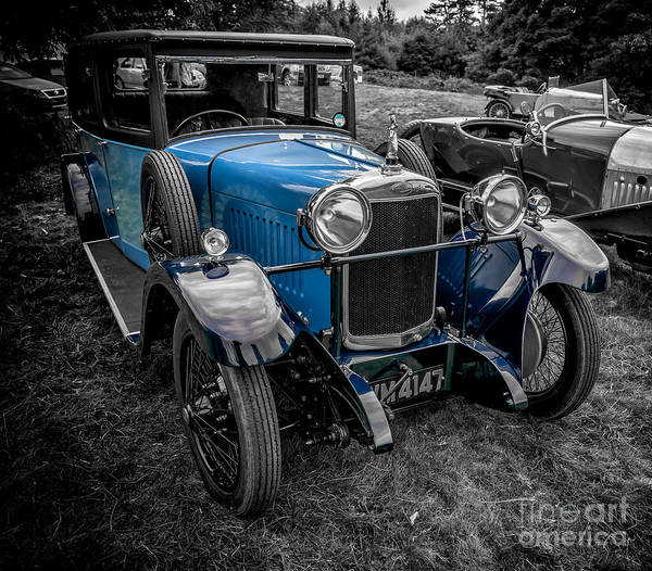 Photograph - Classic Cars by Adrian Evans