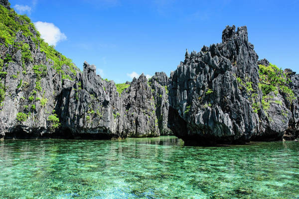Archipelago Photograph - Clear Water In The Bacuit Archipelago by Michael Runkel