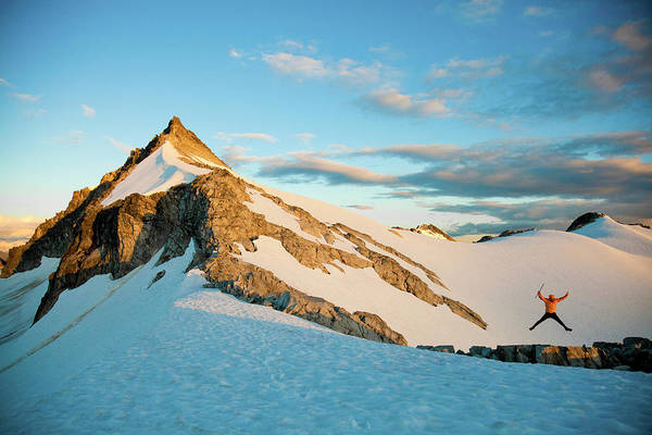 Wall Art - Photograph - Climbing Cypress Peak by Christopher Kimmel