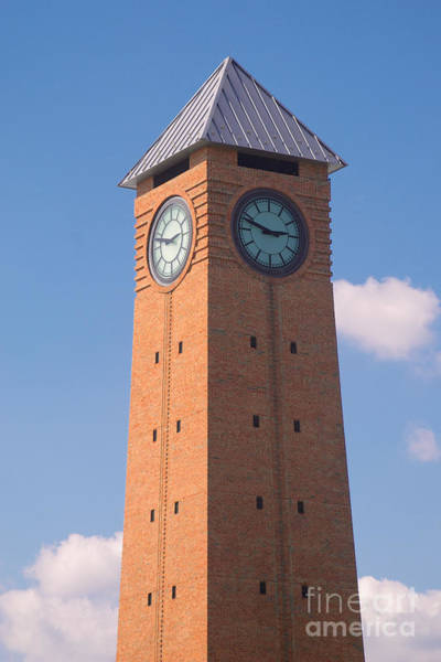 Photograph - Clock Tower by Mark Dodd