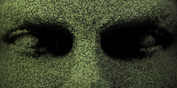Malware Photograph - Close Up Of Three Dimensional Eyes by Ikon Images