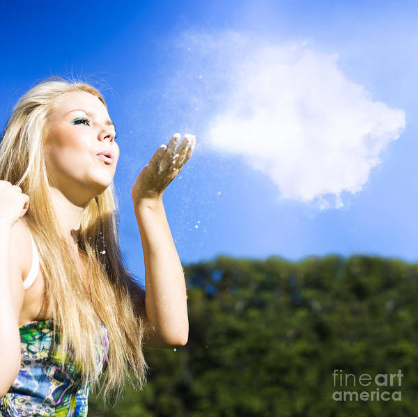 Aspiration Wall Art - Photograph - Cloud Creation With A Puff Of Magic by Jorgo Photography - Wall Art Gallery