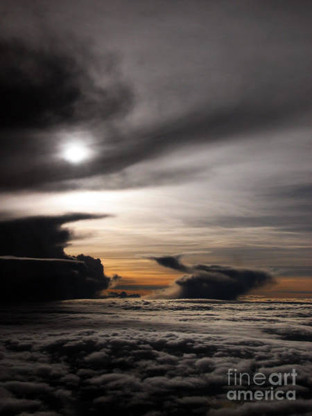 Photograph - Clouds At Dusk by Tim Holt