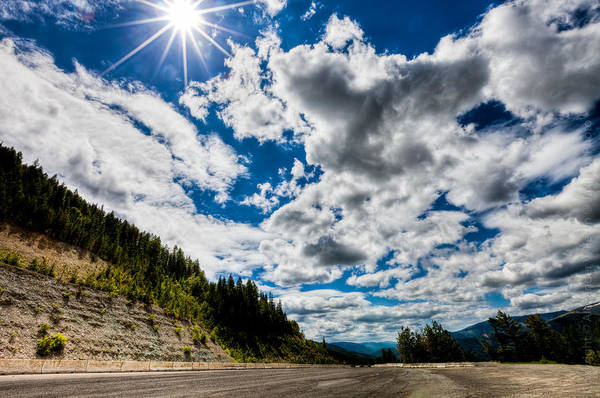 Photograph - Clouds In A Valley by Alexander Fedin