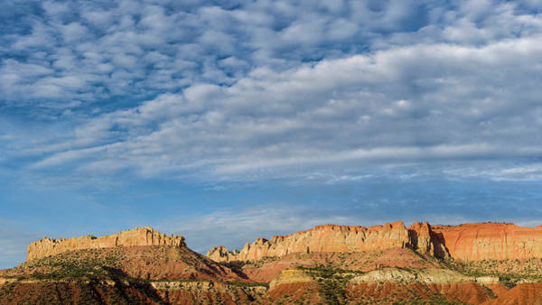 Grand Staircase National Monument Photograph - Clouds Over The Circle Cliffs Near Long by Panoramic Images