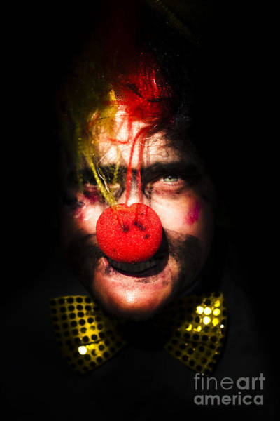 Photograph - Clown by Jorgo Photography - Wall Art Gallery