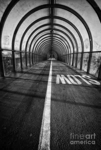 Grimy Wall Art - Photograph - Clydeside Walkway by John Farnan