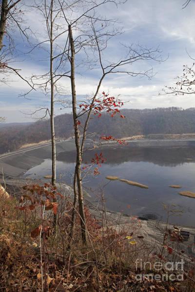 Photograph - Coal Sludge Impoundment Pond by Jim West