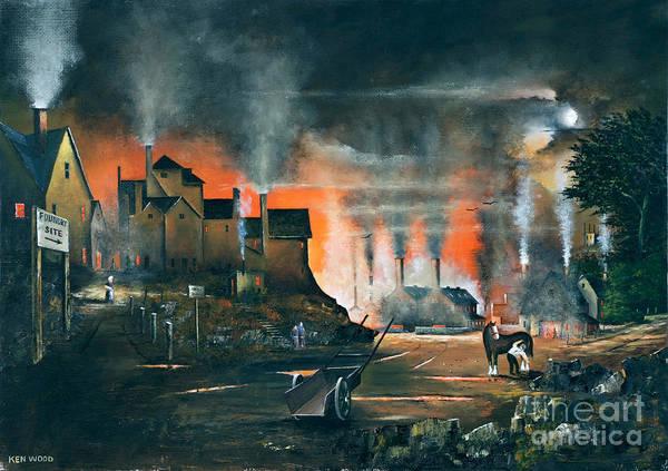 Painting - Coalbrookdale by Ken Wood