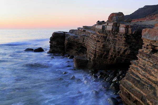 Geology Photograph - Coastline In Cabrillo National by Richard Cummins / Robertharding