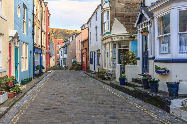 Photograph - Cobbles In Staithes by Susan Leonard