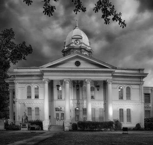Courthouse Towers Wall Art - Photograph - Colbert Country Courthouse In Tuscumbia Alabama by Mountain Dreams