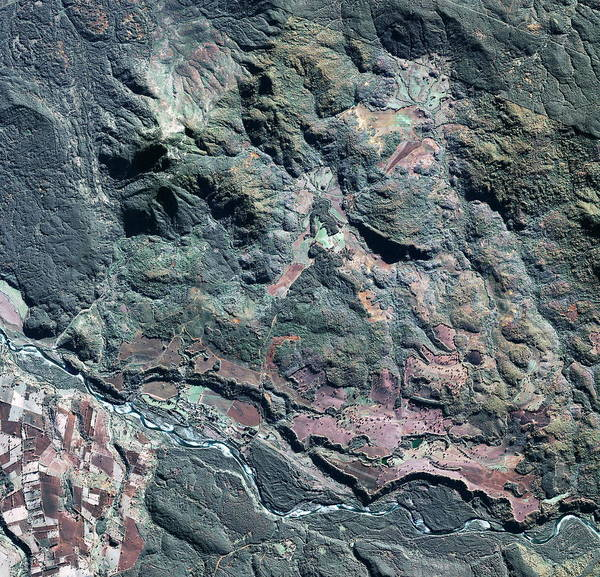 Wall Art - Photograph - Colonia Dignidad by Geoeye/science Photo Library