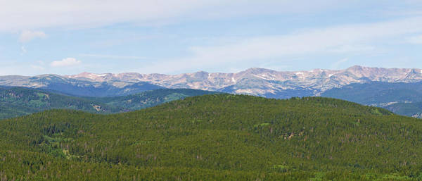 Photograph - Colorado Continental Divide 5 Part Panorama 1  by James BO Insogna