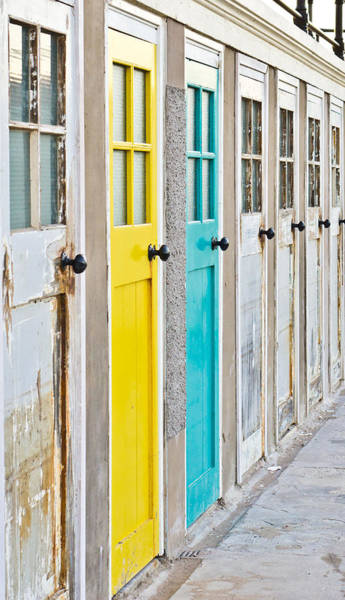 Wardrobe Wall Art - Photograph - Colorful Doors by Tom Gowanlock