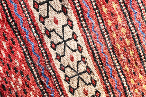 Pattern Wall Art - Photograph - Colorful Rug by Tom Gowanlock