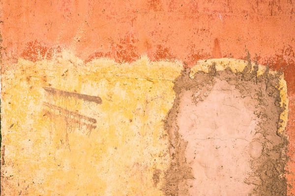 Cement Photograph - Colorful Wall by Tom Gowanlock