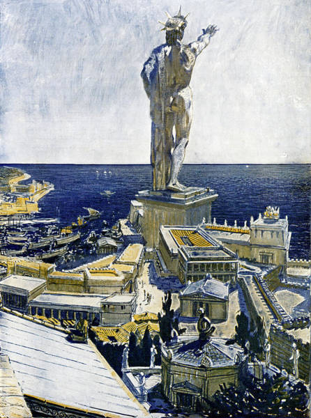 Siege Photograph - Colossus Of Rhodes by Cci Archives