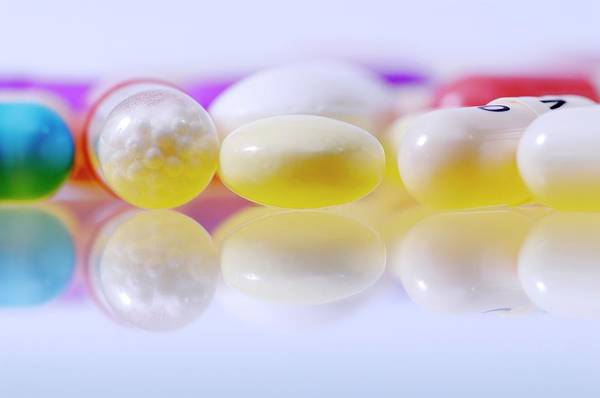 Wall Art - Photograph - Colourful Assortment Of Pills by Bildagentur-online/ohde/science Photo Library