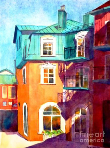 Painting - Colourful Tremblaunt by Betty M M Wong