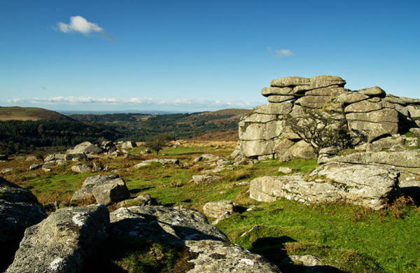 Photograph - Combshead Tor Dartmoor by Pete Hemington