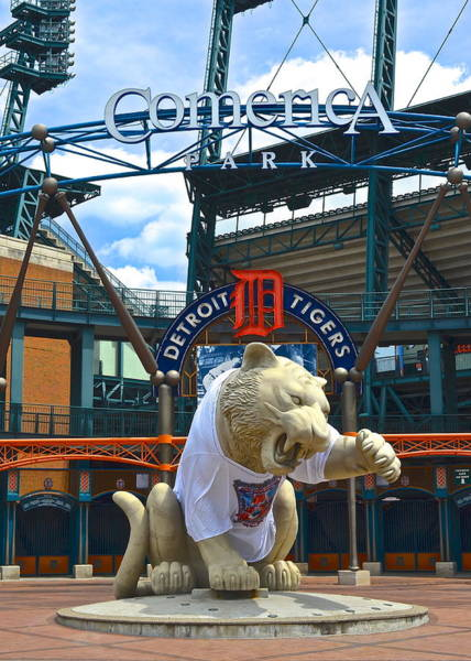 Metro Detroit Photograph - Comerica Park by Frozen in Time Fine Art Photography