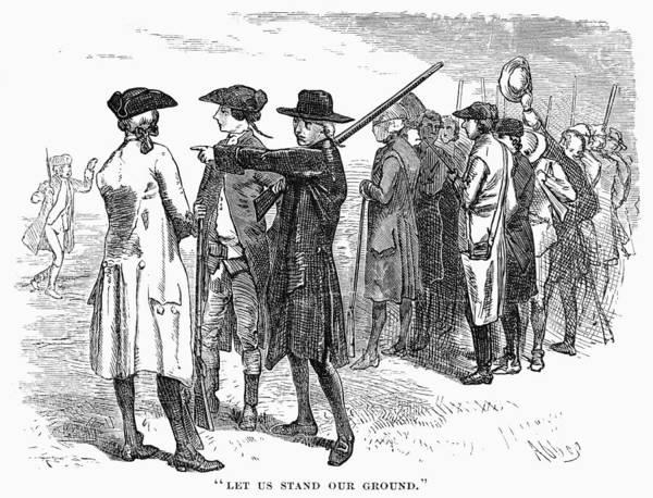 Militiaman Photograph - Concord: Minutemen, 1775 by Granger