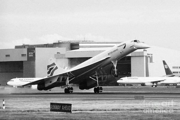 Concorde Photograph - Concorde by Greg Bajor