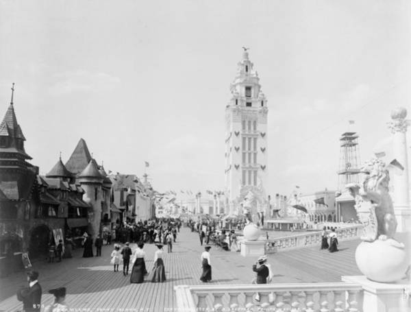 Photograph - Coney Island Dreamland by Granger