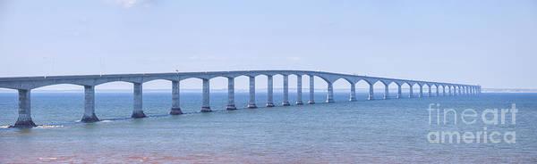 Photograph - Confederation Bridge Panorama by Elena Elisseeva