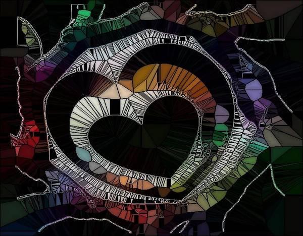 Digital Art - Crazy by Catherine Lott