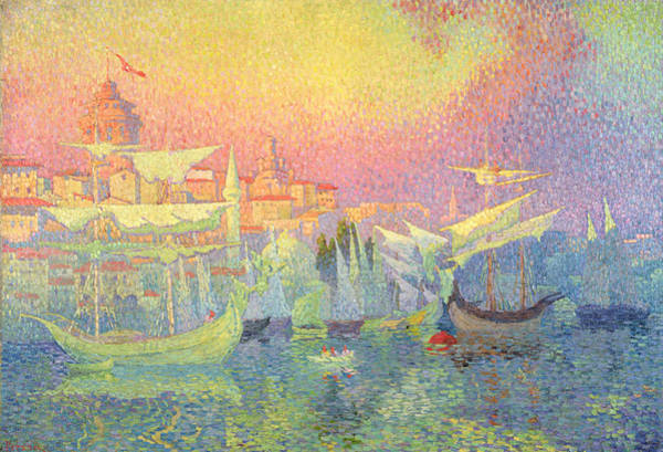 Istanbul Painting - Constantinople by Henri Person