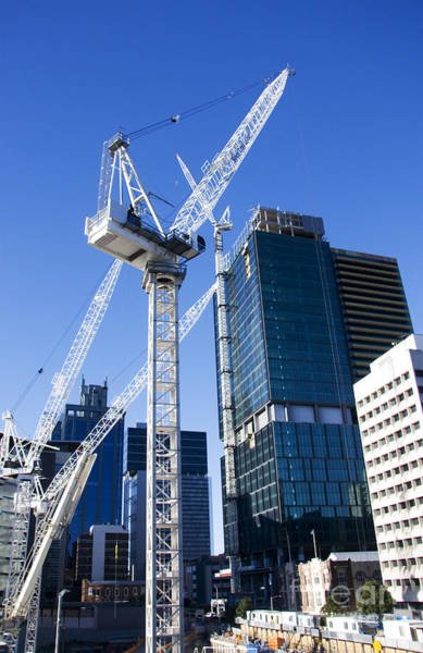 Qld Photograph - Construction City by Jorgo Photography - Wall Art Gallery