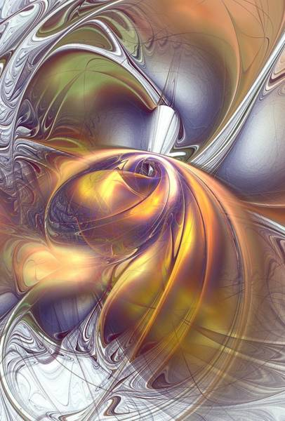 Digital Art - First Contact by Anastasiya Malakhova