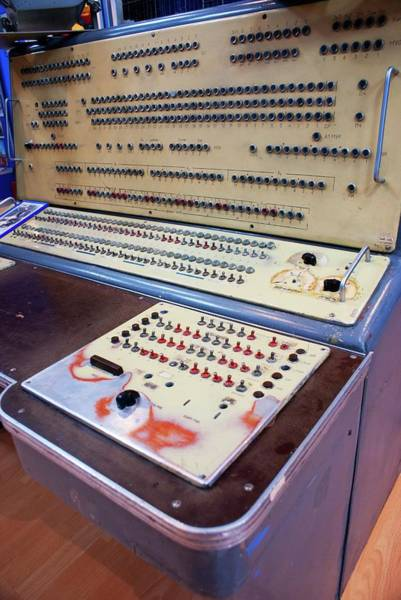 Wall Art - Photograph - Control Console In Baikonur Space Museum by Mark Williamson/science Photo Library