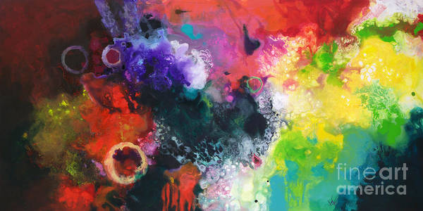 Painting - Convergence by Sally Trace