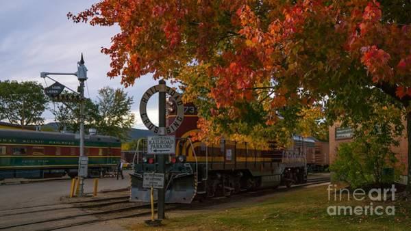 Conway Scenic Railroad Art Print