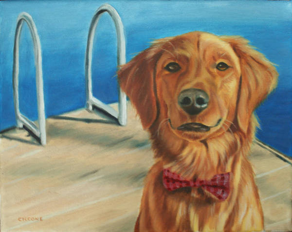 Painting - Cooper by Jill Ciccone Pike