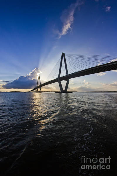 Photograph - Cooper River Bridge Charleston Sc by Dustin K Ryan